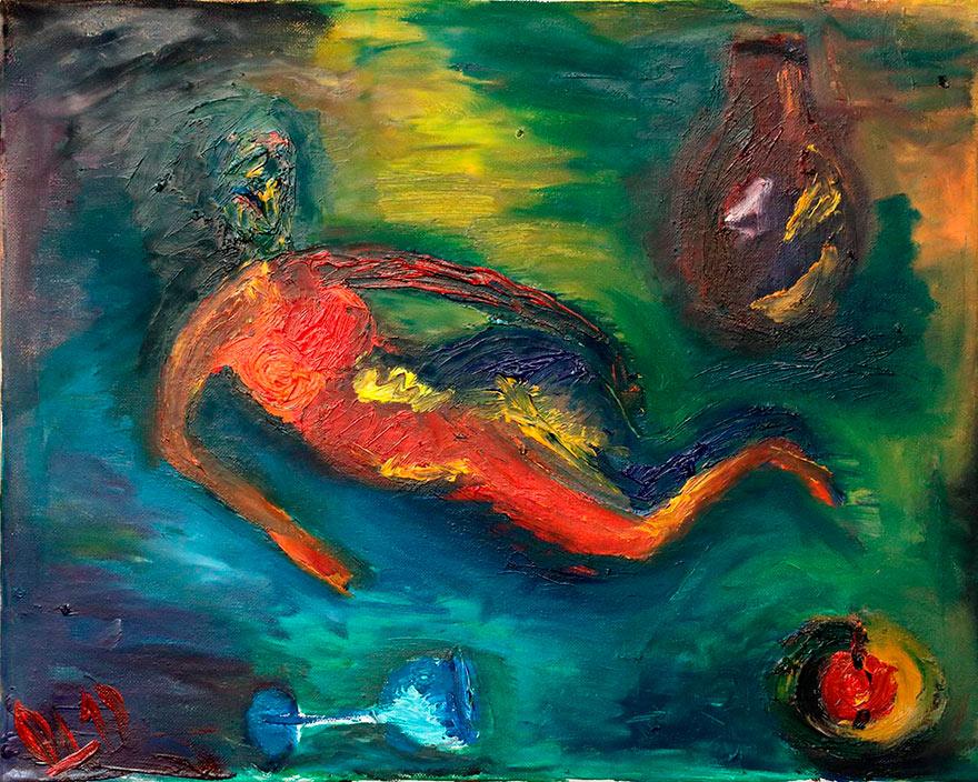 Gemälde Irina